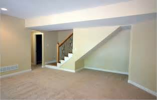 Custom homes by tompkins open basement to rail at bottom space under