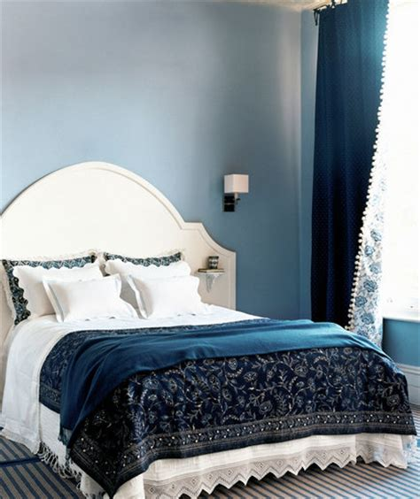 cream and blue bedroom ideas shades of blue 30 modern bedroom ideas real simple