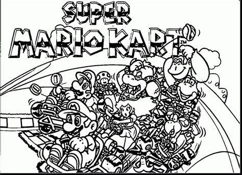 coloring pictures of mario kart characters good super mario kart coloring pages artsybarksy