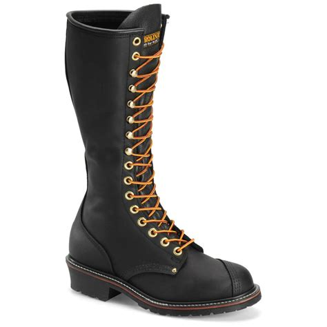 carolina work boots review carolina s leather 16 quot domestic linesman work boots