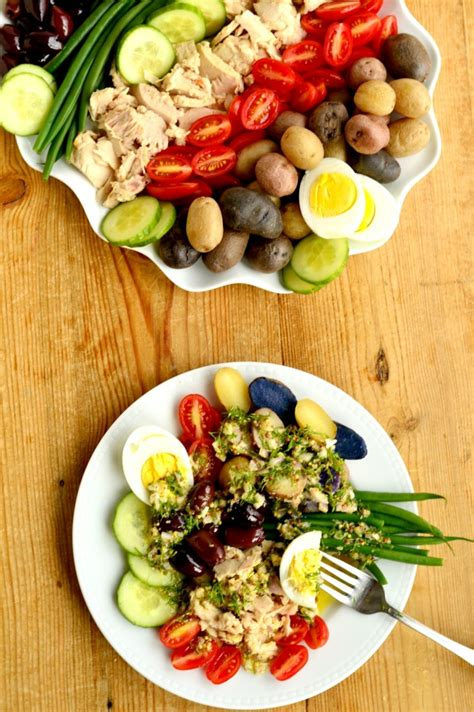 Fast Easy Dinner Salad Nicoise by New Year S Resolution Dinner Nicoise Salad West Of The Loop