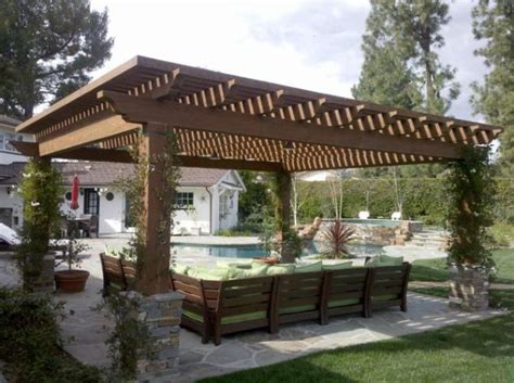 Backyard Pergola Designs by Patio Pergola Designs For The Upcoming Summer Days