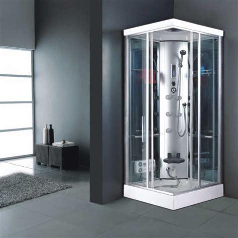 cabine multifunzione doccia cabina 90x90 box doccia idromassaggio vetro multifunzione