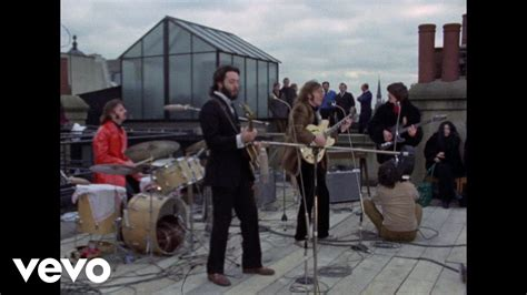 the beatles don t let me down rooftop the beatles don t let me down youtube