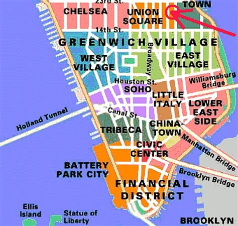 downtown new york city map what is considered downtown in new york and where is
