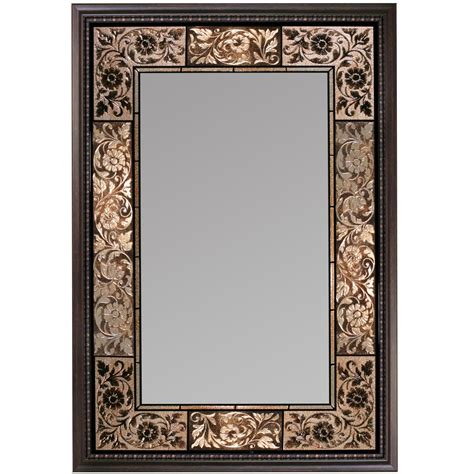 frames for bathroom wall mirrors vanity mirrors wall mounted french tile dark traditional
