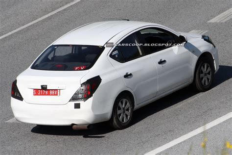 nissan sunny 2012 spied nissan testing new 2012 sunny versa sedan in europe