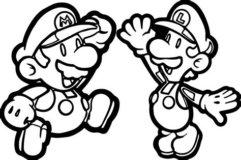 100  [ Coloring Pages Super Mario ]   Mario Coloring Page