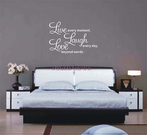 Living Room Wall Decor Quotes Black And White Sayings Promotion Shopping For