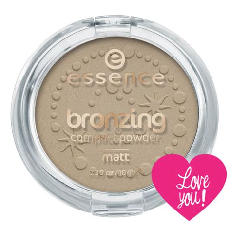 Essence Matte Bronzing Powder Loving It Beaut Ie