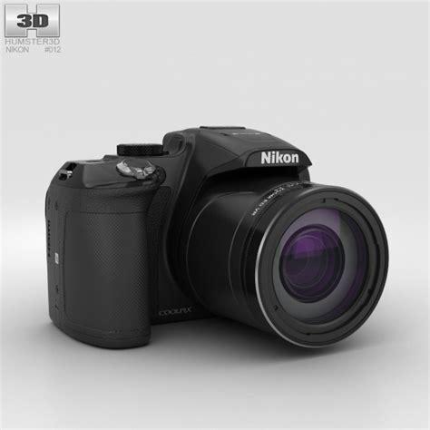 nikon coolpix models nikon coolpix p610 black 3d model humster3d