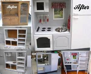 Homemade Kitchen Design Kids Play Kitchen The Whoot