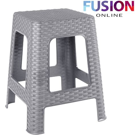 outdoor step stool new large plastic rattan step stool indoor outdoor home