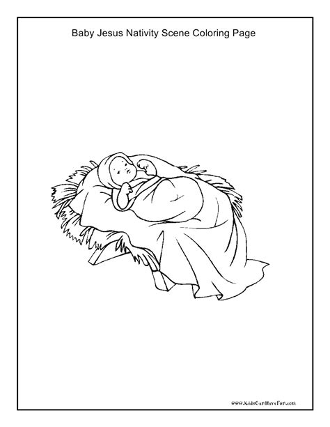 58 coloring page baby jesus in manger xmas coloring