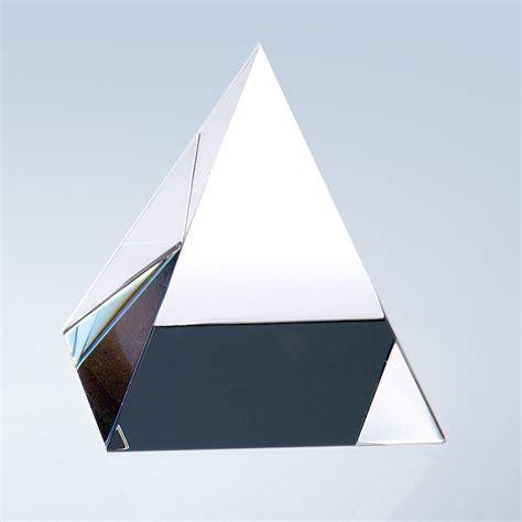 light crystal prism 2 5 prism crystal glass corporate awards