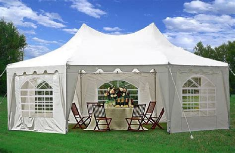 gazebo tent 22 x 16 heavy duty tent gazebo 4 colors
