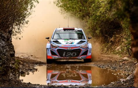 wallpaper water i20 ford dust hyundai wrc rally reflection images for desktop section