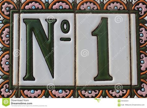 house number plate design number one 1 green white pink colorful design house number plate in spain best winner