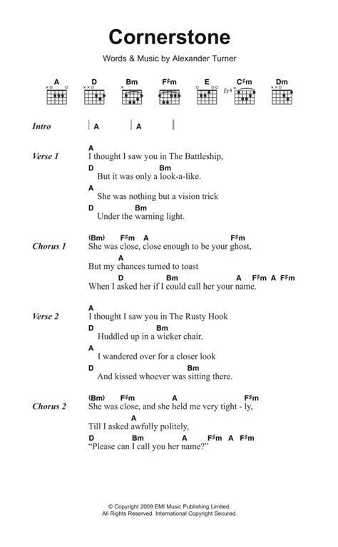 ukulele tutorial arctic monkeys cornerstone by arctic monkeys guitar chords lyrics