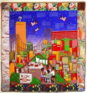 Meaning Of Bed Linen - faith ringgold houses pinterest