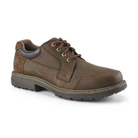 casual oxford shoes thom mcan s gus leather casual oxford shoe brown