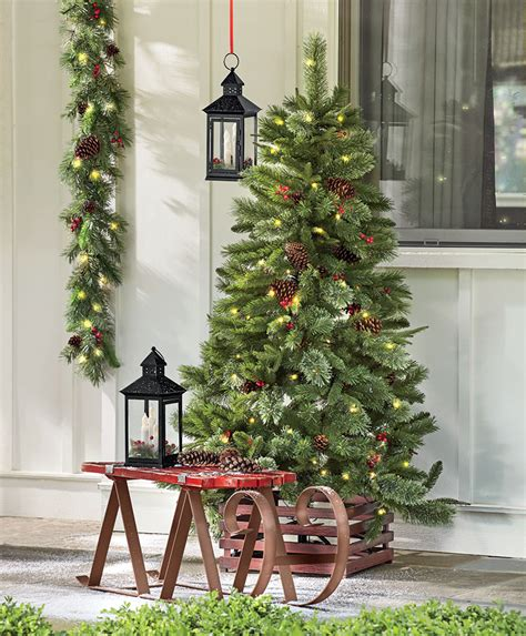 easy up christmas trees easy outdoor decorating ideas