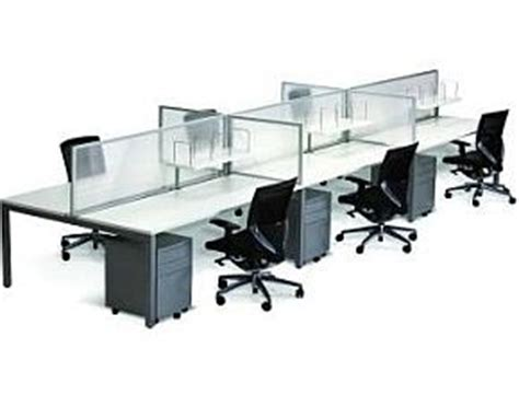 cubit 1500 office desk cubit 1500 6 person office furniture desk system