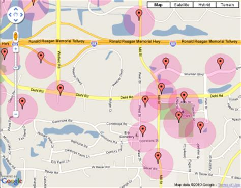 map radius tool geocache radius map tool korey atterberry s idle chatter