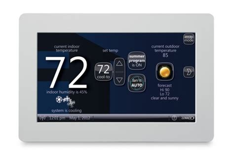 best thermostat location in house best free engine image