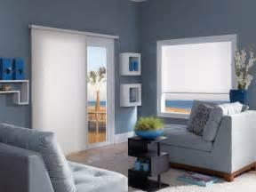 Sliding door cellular shades sliding doors