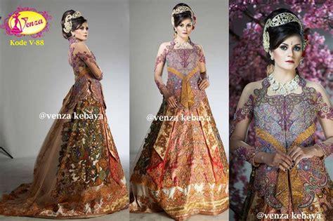 Kebaya Kode Fl 340 B kebaya gaun pengantin kode v 88 by venza kebaya wedding