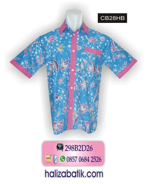 Baju Murah Hem Batik Hb 170 085706842526 indosat baju batik pria baju batik kantor