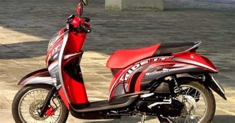 Stiker Variasi Scoopy Fi 17 modifikasi honda scoopy 2011 indonesia motorcycle