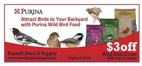 backyard bird shop coupons wild bird seed russell feed supply
