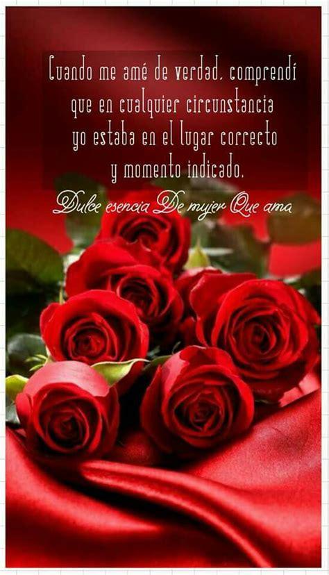 imagenes con rosas y frases bonitas 23 im 225 genes de rosas rojas con frases de amor romanticas