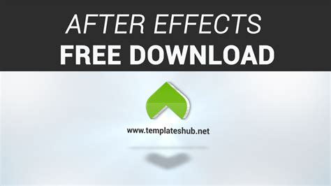 free logo templates after effects clean logo reveal after effects free after