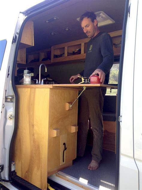 Sprinter Van Buildout: Van Living 4   Steph Davis   High