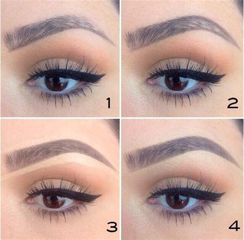 how to color in your eyebrows when you shade your eyebrows in it should always be a