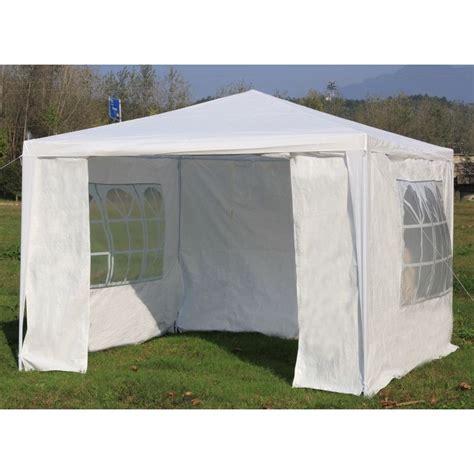 gazebo portable outdoor portable gazebo marquee tent in white 3x3m buy 3x3m