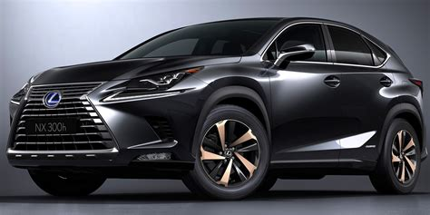 lexus nx 2018 safety features 2018 lexus nx vehicles on display chicago auto show