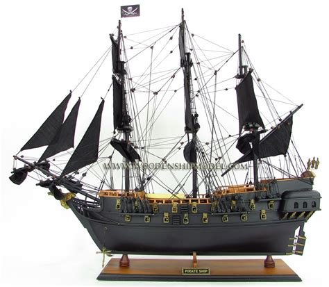 Black Pearl model ship black pearl pirate of the caribbean