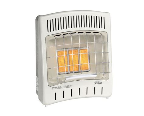 heater for bedroom sunstar thermostat sc18 vent free radiant infrared propane room heater