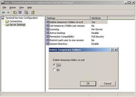 change terminal server windows 2003 terminal services part 1