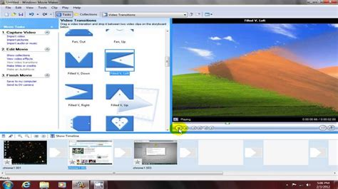 windows movie maker windows vista tutorial windows movie maker get started tutorial video editing