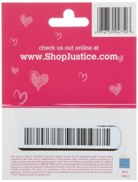 Justice Store Gift Card - justice limited too gift card 50 shop giftcards
