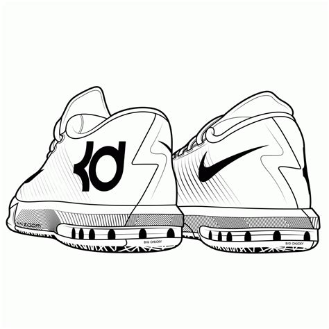 Jordan Sneaker Coloring Pages   Coloring Page   Coloring Home