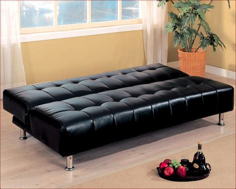coaster company black sofa bed coaster furniture armless convertible sofa bed in black