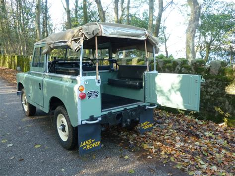 1970 land rover for refurbished 1970 quot tax exempt quot series iia land rover ready