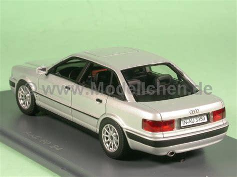 Audi B Hl by Audi 80 B4 Silber 1992 Modellauto 1 43 Neo Scale