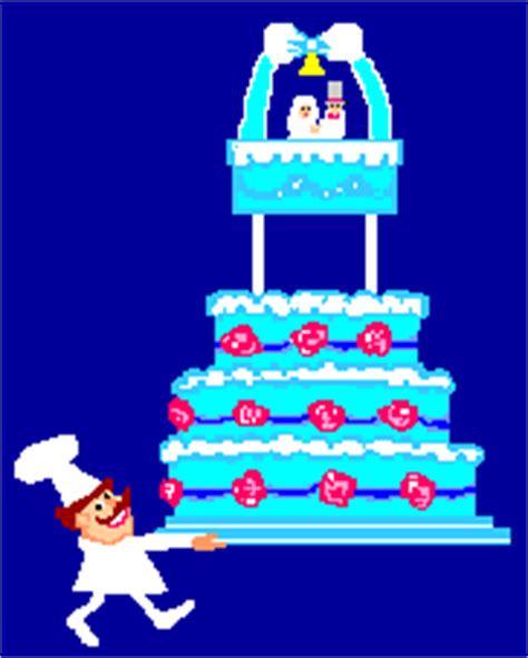 Animated gifs : Wedding cakes